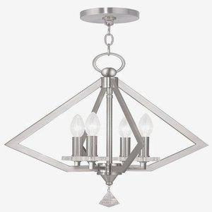 Diamond - Four Light Chandelier
