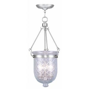 Jefferson - Three Light Chain Hanging Lantern - 12 Inches wide by 25 Inches high