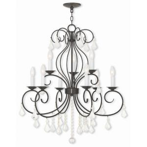 Donatella - Nine Light 2-Tier Chandelier