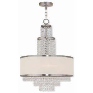 Prescott - 5 Light Chandelier in Prescott Style - 17.75 Inches wide by 24 Inches high