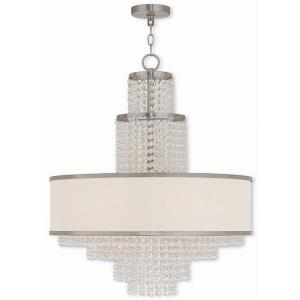 Prescott - 6 Light Chandelier in Prescott Style - 23.63 Inches wide by 28.25 Inches high