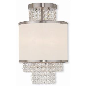 Prescott - 2 Light Semi-Flush Mount in Prescott Style - 10 Inches wide by 15.38 Inches high