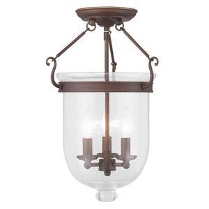 Jefferson - Three Light Flush Mount