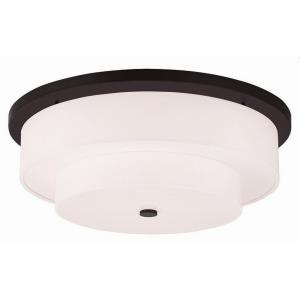 Meridian - 5 Light Flush Mount in Meridian Style - 25.5 Inches wide by 9 Inches high