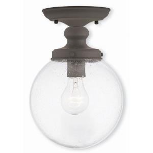 Northampton - 1 Light Flush Mount in Northampton Style - 8 Inches wide by 11.5 Inches high