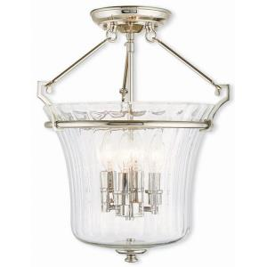 Cortland - 4 Light Semi-Flush Mount