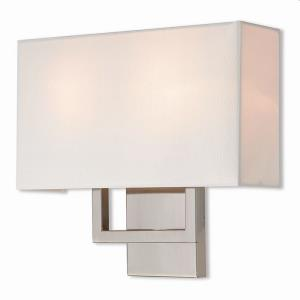 Pierson - 2 Light ADA Wall Sconce in Pierson Style - 13 Inches wide by 11.75 Inches high