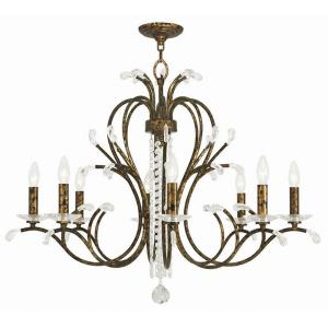 Serafina - 8 Light Chandelier in Serafina Style - 33 Inches wide by 27.5 Inches high