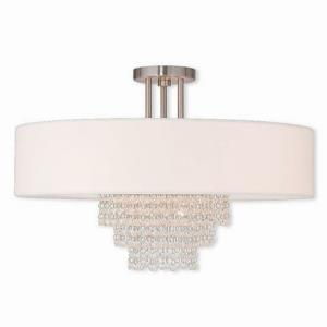 Carlisle - Five Light Semi-Flush Mount