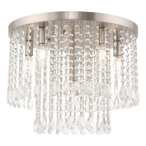 Elizabeth - 17.75 Inch Six Light Flush Mount