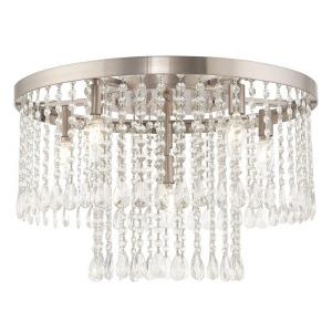 Elizabeth - 22 Inch Six Light Flush Mount