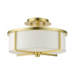 Wesley - 2 Light Semi-Flush Mount
