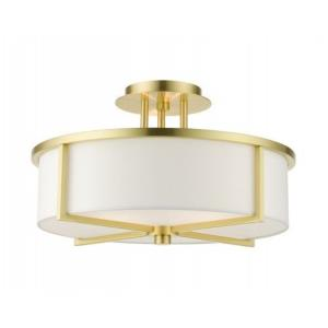 Wesley - 3 Light Semi-Flush Mount