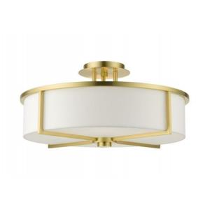 Wesley - 4 Light Semi-Flush Mount