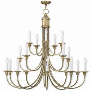 Cranford - Twenty Light 3-Tier Foyer Chandelier
