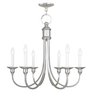 Cranford - Six Light Chandelier
