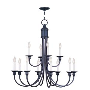 Cranford - Twevle Light 2-Tier Chandelier
