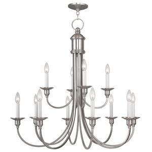 Cranford - Twelve Light 2-Tier Chandelier