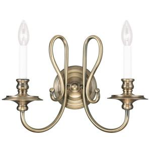 Caldwell - 2 Light Wall Sconce in Caldwell Style - 16 Inches wide by 13.25 Inches high