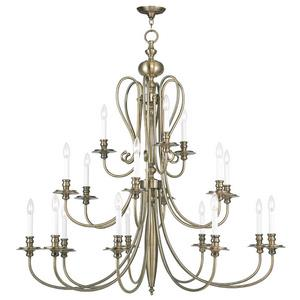 Caldwell - Eighteen Light 3-Tier Chandelier