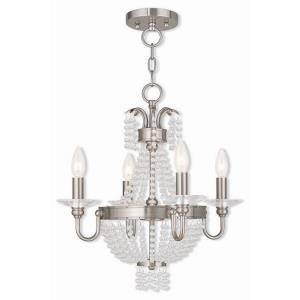 Valentina - Four Light Convertible Mini Chandelier