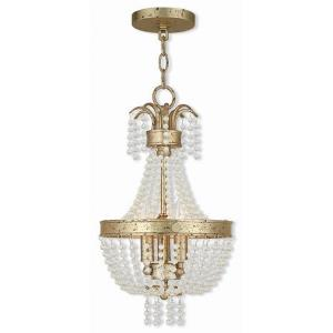Valentina - 3 Light Pendant in Valentina Style - 10 Inches wide by 18.5 Inches high