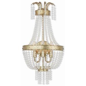 Valentina - 3 Light Wall Sconce in Valentina Style - 12.75 Inches wide by 24.5 Inches high