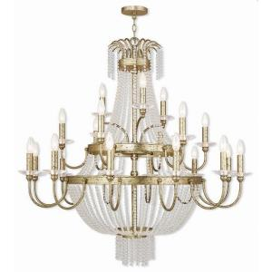 Valentina - 21 Light Foyer Chandelier in Valentina Style - 42 Inches wide by 42.75 Inches high