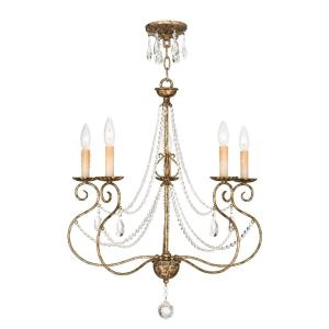 Isabella - Five Light Chandelier