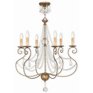 Isabella - Six Light Chandelier