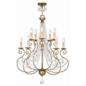 Isabella - Ten Light 2-Tier Chandelier