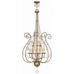 Isabella - Nine Light 2-Tier Foyer Chandelier