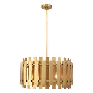 Greenwich - 5 Light Pendant in Greenwich Style - 18 Inches wide by 18.5 Inches high