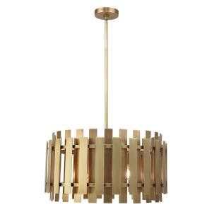 Greenwich - 6 Light Pendant in Greenwich Style - 24 Inches wide by 20 Inches high