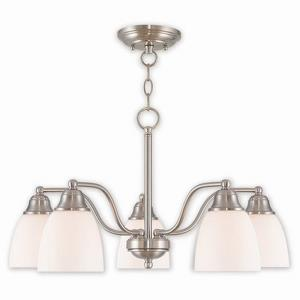 Somerville - Five Light Convertible Dinette Chandelier