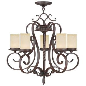 Millburn Manor - Five Light Chandelier