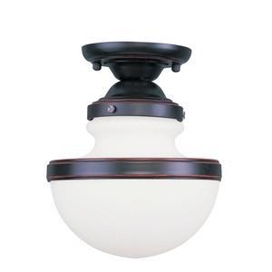 Oldwick - One Light Semi-Flush Mount