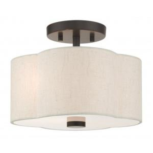 Solstice - 11 Inch 2 Light Semi-Flush Mount