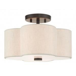 Solstice - 13 Inch 2 Light Semi-Flush Mount