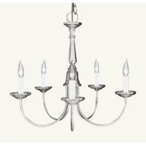 Home Basics - Five Light Chandelier