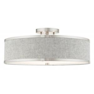Park Ridge - 18 Inch 3 Light Semi-Flush Mount