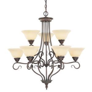 Coronado - Nine Light Chandelier