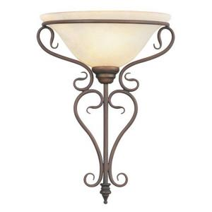 Coronado - 1 Light Wall Sconce in Coronado Style - 14 Inches wide by 18.75 Inches high