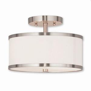 Park Ridge - 11 Inch Two Light Semi-Flush Mount