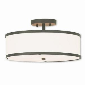 Park Ridge - 15 Inch Three Light Semi-Flush Mount