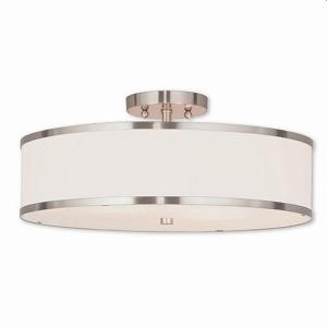 Park Ridge - 18 Inch Three Light Semi-Flush Mount