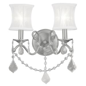 Newcastle - 2 Light Wall Sconce in Newcastle Style - 12 Inches wide by 16 Inches high