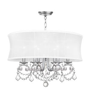 Newcastle - 6 Light Chandelier in Newcastle Style - 24 Inches wide by 20.5 Inches high