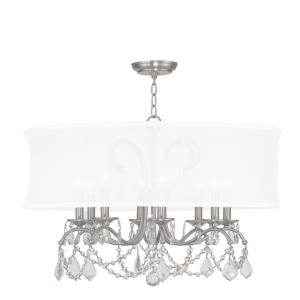 Newcastle - 8 Light Chandelier in Newcastle Style - 28 Inches wide by 21 Inches high
