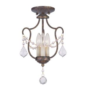 Chesterfield - 3 Light Convertible Mini Pendant